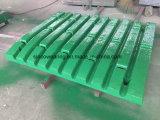 Delen van de Maalmachine van de Kaak van de Plaat van de Kaak van het Staal van het Mangaan van Metso de Gietende