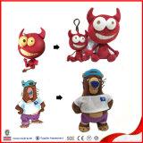青いプラシ天のおもちゃの日本製アニメの漫画のプラシ天は子供のための25のCmのおもちゃをもてあそぶ