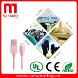 Smartphone 비용을 부과 케이블을%s 나일론 땋는 알루미늄 합금 USB 데이터 케이블