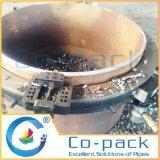 Coupure de pipe de tube d'acier allié et machine de chanfrein