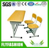 Escritorio y silla del estudiante del diseño simple fijados (SF-22D)