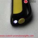 건전지 클립-온 소형 고무 LED 일 펜 빛