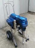 전기 피스톤 펌프 고압 답답한 페인트 살포 기계