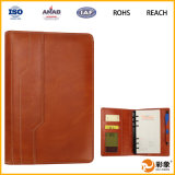 Card Slot를 가진 선전용 PU Leather Notebook Case