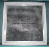Решетка выхлопного воздуха клети яичка алюминиевая