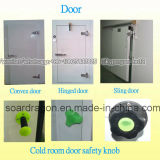 Lager Isolierzwischenlage-Panel-Kühlraum mit parallelem Kompressor-Kühlgerät