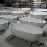 Petite baignoire autonome en pierre extérieure solide moderne (BT1608087)