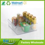 Organizador casero del almacenaje de congelador de la bebida de la cocina los 30X30.5X10.2cm