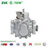 Compteur de débit de mesure de mesure d'essence de combustible dérivé du pétrole de débitmètre d'essence électromagnétique des prix pour le distributeur d'essence