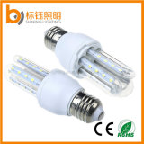 Bulbo de lámpara regulable LED de 360 grados 2U 5W LED del maíz E27 85-265V de ahorro de energía