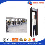 Airport 또는 Hotel 사용을%s 2 LED Lights를 가진 도보 Through Metal Detectors AT-IIIC 문틀 금속 탐지기