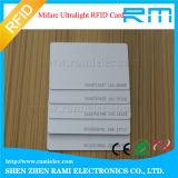 blanc de l'IDENTIFICATION RF 125kHz/13.56MHz/carte d'impression pour le contrôle d'accès Smart Card