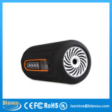 6600mAh Outdoor Waterproof Portable Stereo Wireless Bluetooth Speaker para Cyclist com diodo emissor de luz (JN1008)