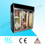 Three Side Glass Floral Display Coolers for Flowers