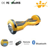 Scooter balance de 8 pulgadas con Bluetooth y luz LED