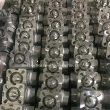 Válvula de bola de acero inoxidable 2PC con el postizo de montaje