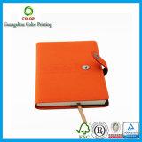 Ventes en gros en cuir faites sur commande de cahier de qualité dans Guangzhou