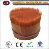 Filamentos afilados sólidos del cepillo del animal doméstico