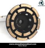 Одиночное колесо чашки рядка для каменный молоть