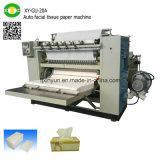 Equipamento automático de alta velocidade da máquina da fatura de papel de tecido facial