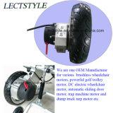 мотор кресло-коляскы ого & правого электричества DC 24V 250W безщеточный с рукояткой и регулятором кнюппеля