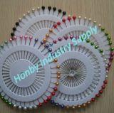 Rad, das 38mm bunte Perlen-Kugel-Kopf Sewing&Needle Stifte packt