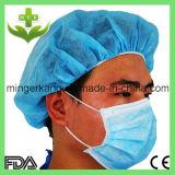 Maschera del dottore protezione con differenti tipi