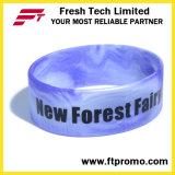 Wristband stampato personalizzato di vendita caldo del silicone