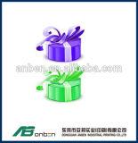 Изготовленный на заказ романтичная коробка кольца, кольцо упаковывая, уникально коробка кольца