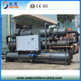 wassergekühlter Wasser-Kühler der Schrauben-200HP mit Doppelkompressor