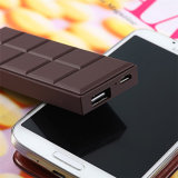 スマートな電話のための熱い販売のかわいいチョコレート携帯用力バンク