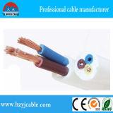 Гибкий кабель изоляции PVC проводника изготовления 300/500V медный