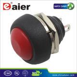 Bouton poussoir électrique, commutateur de bouton poussoir, commutateur (PBS-33B)