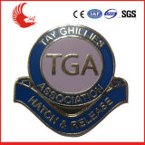 Distintivi poco costosi del commercio all'ingrosso del metallo di alta qualità