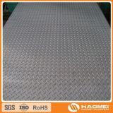 superfície brilhante de alumínio da placa do diamante
