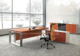 L SHAPE Modern Office Desk met Roestvrij staal Leg (HF-SIA01)