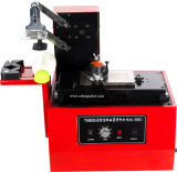 Máquina eléctrica de la impresora de la fecha de la tinta de la pista de la placa