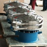 Peneira de vibração em pó de separador de metal rotativo