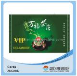 China-Hersteller Norm-Leerzeichen Belüftung-Identifikation-Karten