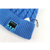 Women/LadyのためのMicrophone Speaker構築のの冬Knit Smart Electronics Bluetooth Music Headphone Beanie Wearable Smart Hat Cap