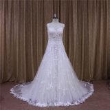 Ультрамодное красивейшее сделанное мантией венчания фабрики Красотки Bridal