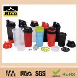 Copo plástico do frasco do abanador da potência da ginástica (SHK-006)