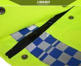 Hi-Визави делают куртку водостотьким дорожной полиции