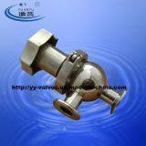 Válvula de regulamento sanitária do aço inoxidável