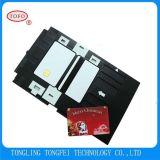 на подносе карточки удостоверения личности PVC сбывания для Epson R390