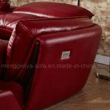 電気リクライニングチェアの革ソファー(899#)