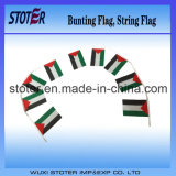 Palästina-Entwurfs-Flagge-Zeichenkette-Markierungsfahne
