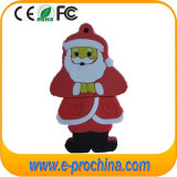 Hot Selling Ce Aprovado Natal Cartoon USB Flash Drive