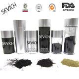 Pós naturais da fibra do cabelo da queratina do pó da cor do cabelo que denominam fibras Sevich 12g/25g
