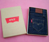 Vintage Jean Clothing Cover Journal